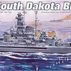 Maquetas: MAQUETA TRUMPETER 1/700 USS SOUTH DAKOTA BB-57 #05743. Lote 101492631