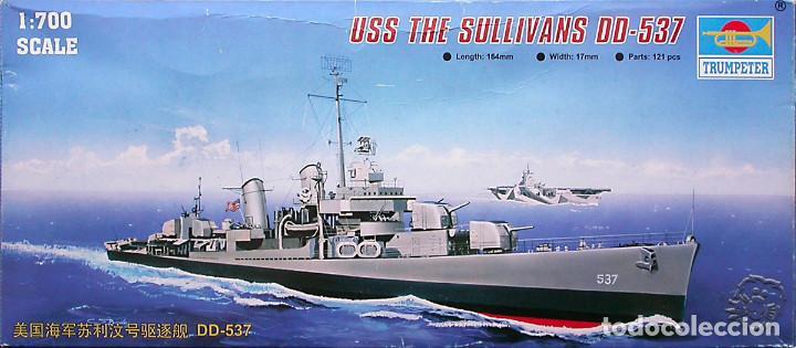MAQUETA TRUMPETER 1/700 USS THE SULLIVANS DD-537 #05731 (Juguetes - Modelismo y Radiocontrol - Maquetas - Barcos)