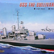 Maquetas: MAQUETA TRUMPETER 1/700 USS THE SULLIVANS DD-537 #05731. Lote 101493263