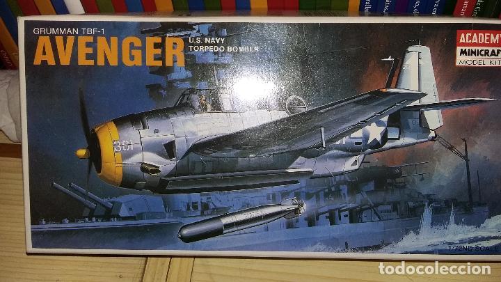 GRUMMAN TBF 1 AVENGER: ACADEMY 1/72 (Juguetes - Modelismo y Radio Control - Maquetas - Aviones y Helicópteros)
