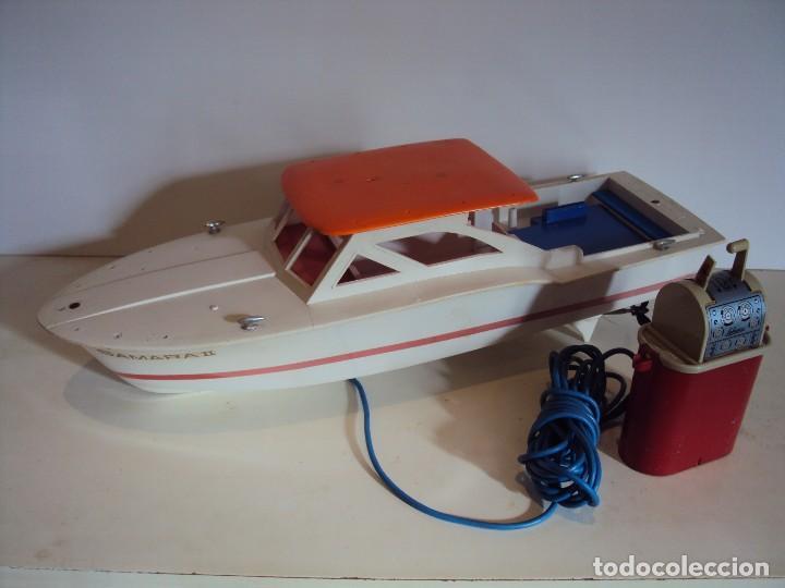 SCHUCO SAMARA II CON CABLE DIRIGIDO (Juguetes - Modelismo y Radiocontrol - Maquetas - Barcos)