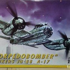 Maquetas: JUNKERS JU-88 A-17 TORPEDOBOMBER. ITALERI 1/72. Lote 101998795