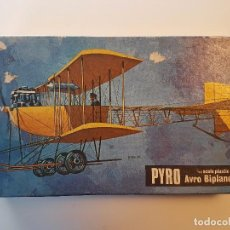 Maquetas: MAQUETA AVIÓN PYRO AVRO BIPLANE 1911ESCALA 1/48 ( MADE IN USA ). Lote 102015595