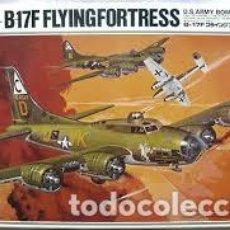 Maquetas: HASEGAWA - BOEING B-17F FLYING FORTESS K11 1/72 . Lote 102032031