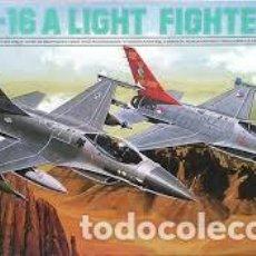 Maquetas: ESCI - F-16 A LIGHT FIGHTER 9041 1/72. Lote 102036715