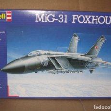 Maquetas: REVELL - MIG 31 FOXHOUND 4377 1/72. Lote 102089743