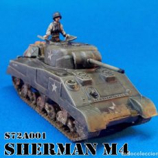 Maquetas: S72A001 SHERMAN M4 SCALE 1/72. Lote 102381651