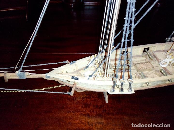 Maquetas: Antigua Maqueta Fragata Americana Madera - Foto 2 - 102547427