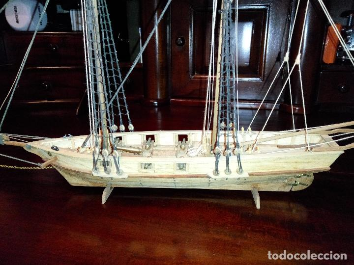 Maquetas: Antigua Maqueta Fragata Americana Madera - Foto 6 - 102547427