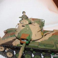 Maquetas: MAQUETA TANQUE U.S. ARMY, PATTON M-48, TANK TAMIYA AÑOS 80. Lote 102740967