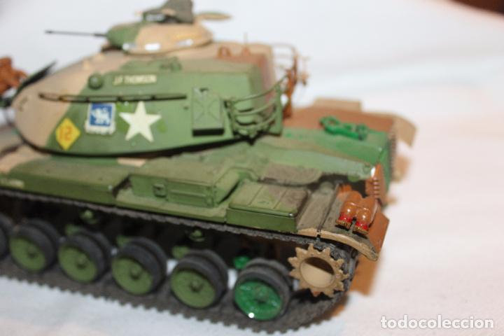 Maquetas: MAQUETA TANQUE U.S. ARMY, PATTON M-48, TANK TAMIYA AÑOS 80 - Foto 5 - 102740967