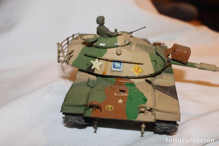 Maquetas: MAQUETA TANQUE U.S. ARMY, PATTON M-48, TANK TAMIYA AÑOS 80 - Foto 6 - 102740967