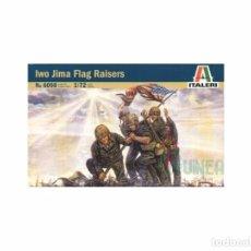 Maquetas: ITALERI - IWO JIMA FLAG RAISERS 6098 1/72. Lote 102843039