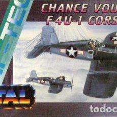Maquetas: SMER - CHANCE VOUGHT F4U-1 CORSAIR 0885 1/72. Lote 102843947