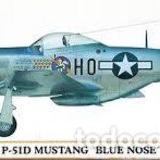 Maquetas: HASEGAWA - P-51D MUSTANG BLUE NOSE 00186 1/72. Lote 102974915