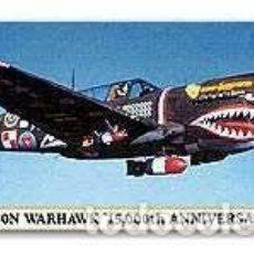 Maquetas: HASEGAWA - P-40N WARHAWK 15,000TH ANNIVERSARY 00360 1/72. Lote 102976111