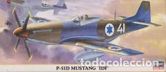 HASEGAWA - P-51D MUSTANG IDF 00617 1/72 (Juguetes - Modelismo y Radio Control - Maquetas - Aviones y Helicópteros)