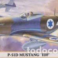 Maquetas: HASEGAWA - P-51D MUSTANG IDF 00617 1/72. Lote 102977055