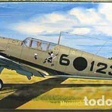 Maquetas: HASEGAWA - MESSERSCHMITT BF109E-3 SPAÑISH AIR FORCE AP114 51374 1/72. Lote 102990343