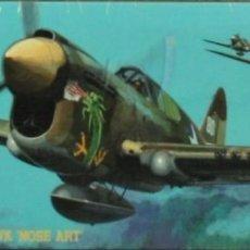 Maquetas: HASEGAWA - P-40E WARHAWK NOSE ART AT101 02561 1/72. Lote 210791937