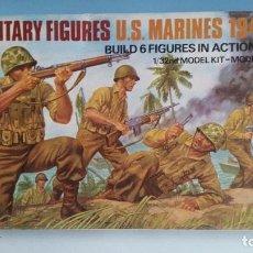 Maquetas: AIRFIX MULTIPOSE FIGURES 1/32 U.S. MARINES 1941-45. Lote 103276755