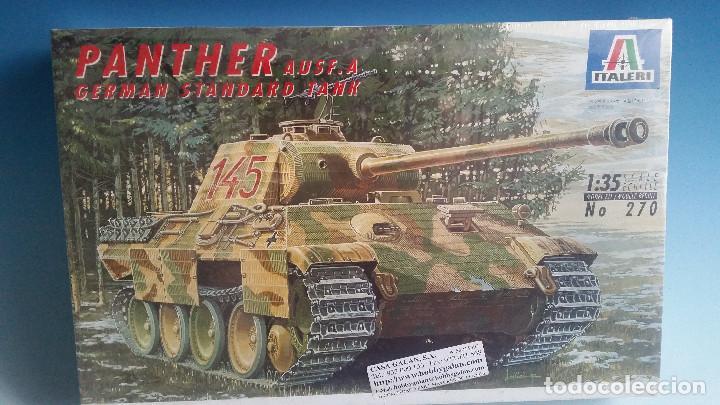 ITALERI: PANTHER AUSF. A GERMAN STANDARD (Juguetes - Modelismo y Radiocontrol - Maquetas - Militar)