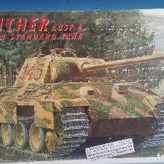 Maquetas: ITALERI: PANTHER AUSF. A GERMAN STANDARD . Lote 103277731