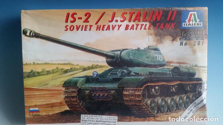 IS-2/J.STALIN II, PLASTIKBAUSATZ, 1:35, ITALERI, NEU IN OVP (Juguetes - Modelismo y Radiocontrol - Maquetas - Militar)