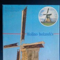 Maquetas: MOLINO HOLANDES EN MADERA. Lote 103282127