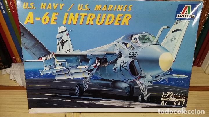 US NAVY / MARINES A-6E INTRUDER. ITALERI 1/72 (Juguetes - Modelismo y Radio Control - Maquetas - Aviones y Helicópteros)