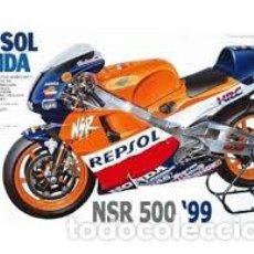 Maquetas: TAMIYA - REPSOL HONDA NSR 500 ´99 14077 1/24. Lote 153627305