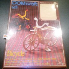 Maquetas: DOM CRAFT NEW INTERIOR TATSUYA ORIGINAL / BICICLETA / BICYCKE / CONSTRUCT FROM 2 PIECES WOOD 4 MM. Lote 103753955
