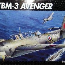 Maquetas: GRUMMAN TBM 3 AVENGER. MONOGRAM 1/48. Lote 104053527