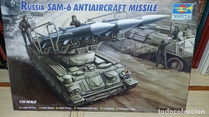 RUSSIAN SAM 6 ANTIAIRCRAFT MISSILE. TRUMPETER 1/35 (Juguetes - Modelismo y Radiocontrol - Maquetas - Militar)