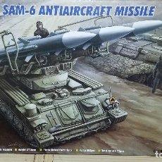Maquetas: RUSSIAN SAM 6 ANTIAIRCRAFT MISSILE. TRUMPETER 1/35. Lote 104053643