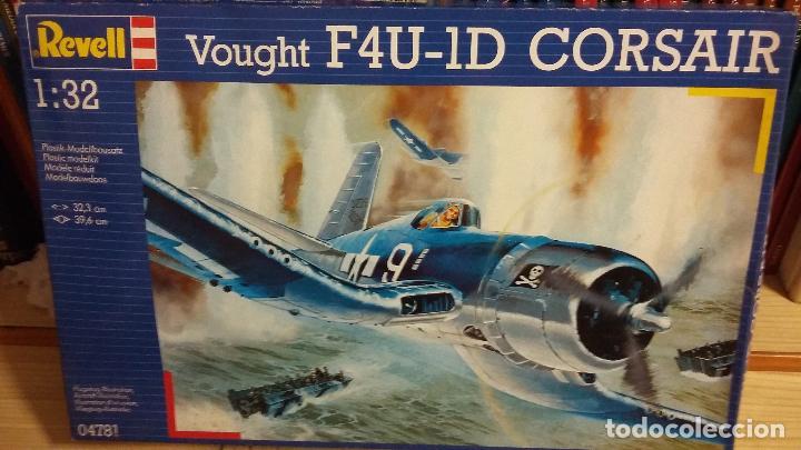 VOUGHT F4U 1D CORSAIR. REVELL 1/32 (Juguetes - Modelismo y Radio Control - Maquetas - Aviones y Helicópteros)