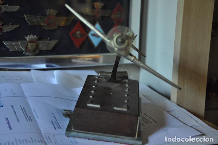 Maquetas: MAQUETA AVION TEXAS , METALICO CON DEDICATORIA. - Foto 8 - 104096715