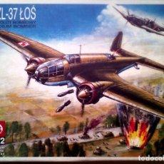 Maquetas: PZL P.37 LOS 1/72 ZTS. Lote 176566982