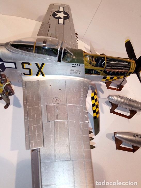 Maquetas: Caza americano segunda guerra mundial, escala 1/32 - Foto 2 - 104471235