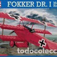 Maquetas: REVELL - FOKKER DR.1 MANFRED VON RICHTHOFEN 04744 1/28. Lote 104529291