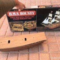 Maquetas: BARCO MERCANTIL INGLÉS 1787 H.M.S. BOUNTY. Lote 104686532