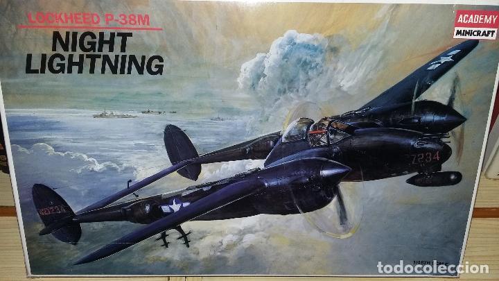 LOCKHEED P-38 M NIGH LIGHTNINIG. ACADEMY 1/48 (Juguetes - Modelismo y Radio Control - Maquetas - Aviones y Helicópteros)