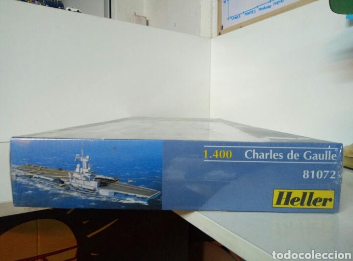 Maquetas: MAQUETA GRANDE CHARLES DE GAULLE HELLER 81072 ESCALA 1:400 - Foto 3 - 104734150