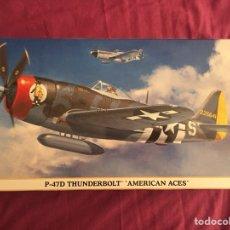"Maquetas: P-47D THUNDERBOLT ""AMERICAN ACES"" EDICIÓN LIMITADA 1:48 HASEGAWA 09968 MAQUETA AVIÓN. Lote 104757955"