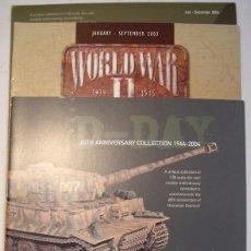 Maquetas: TRES CATALOGOS CORGI WORLD WAR II COLLECTION. Lote 104949367