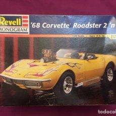 Maquetas: CORVETTE 68 ROADSTER 1:24 REVELL MAQUETA COCHE. Lote 105029319
