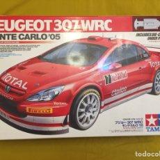 Maquetas: PEUGEOT 307 WRC MONTE CARLO '05 TAMIYA 1:24 MAQUETA COCHE RALLY. Lote 105030535