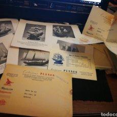 Maquetas: EXCLUSIVAS. PLANES. MAQUETAS DE BARCOS. 1940. PUBLICIDAD. Lote 105046518