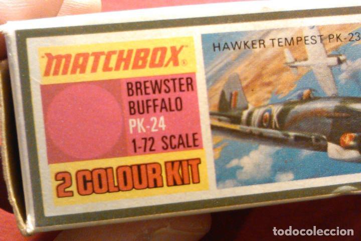 Maquetas: Maqueta de avión de combate Brewster Buffalo, escala 1:72. Matchbox, PK-24. Año 1974. - Foto 6 - 105321919