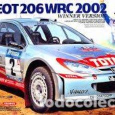 Maquetas: TAMIYA - PEUGEOT 206 WRC VERSION 2002 24262 1/24. Lote 194905001
